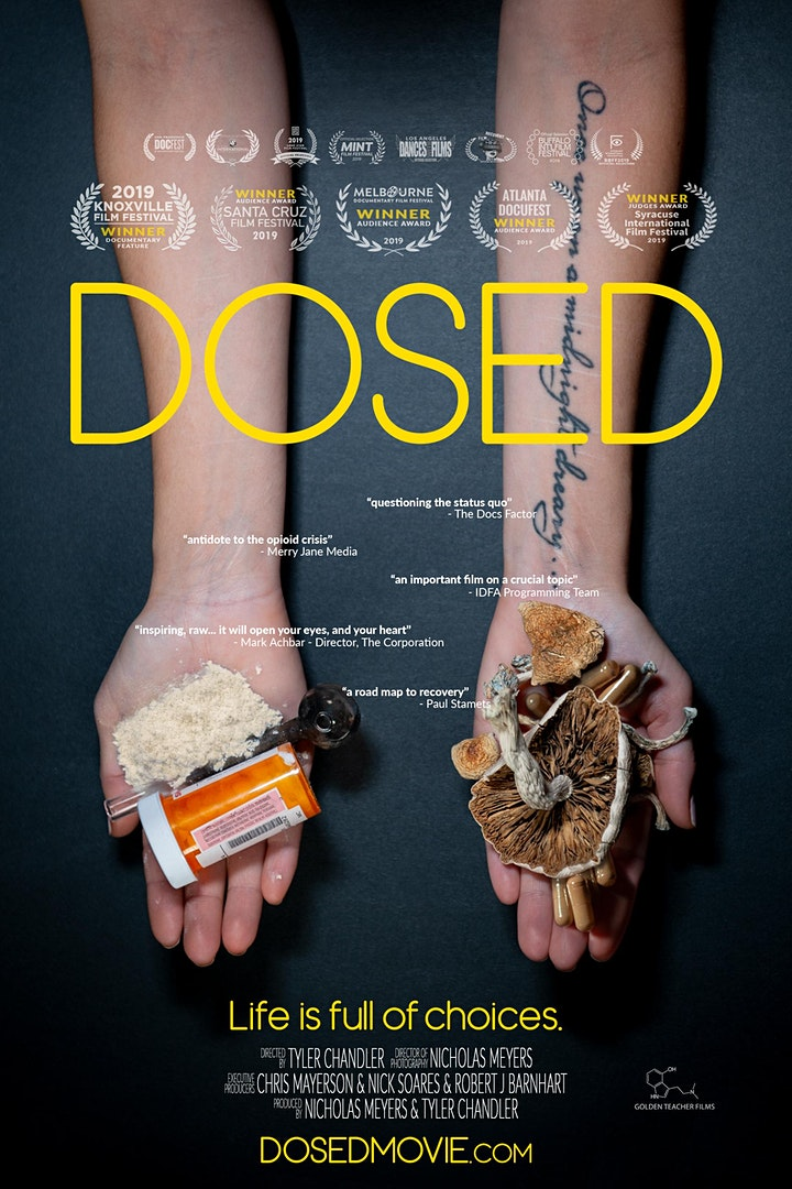 DOSED Documentary - One Show Only + Q&A at Paul O'Regan Hall image