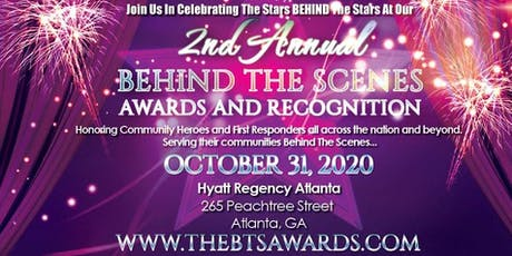 Behind The Scenes Awards and Recognition tickets