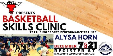 Winter Basketball Skills Clinics tickets