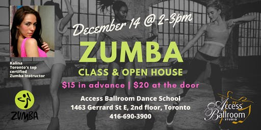 Zumba Classes in Toronto at Access Ballroom
