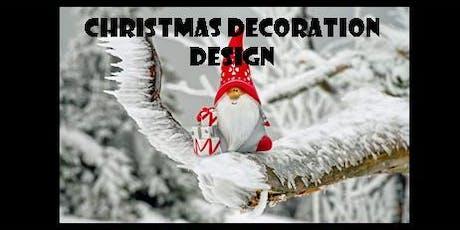 Christmas Decoration Design tickets
