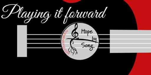Hope by Song- Annual Playing it Forward  & Community Partner Award  Event