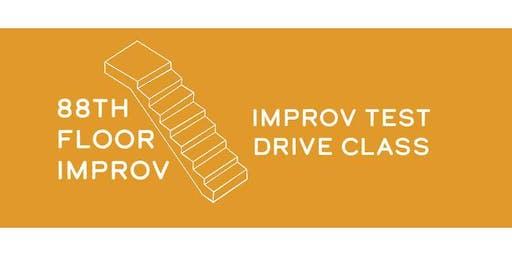 88th Floor Improv: Improv Comedy Test Drive Class