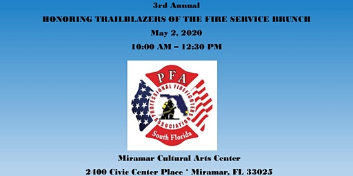 Trailblazers of the Fire Service Brunch