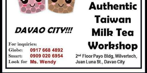 Authentic Taiwan Milk Tea Franchise Workshop
