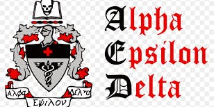 Alpha Epsilon Delta (AED) Fall Chapter #6