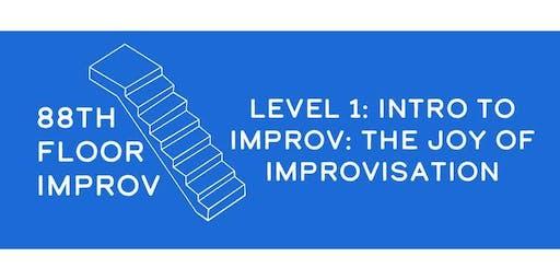 88th Floor Improv: Level 1 Improv Comedy Class (4 Weeks)