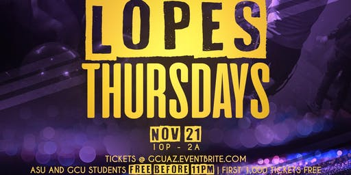 Lopes Thursdays
