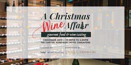 A Christmas Wine Affair  - Food & Wine Tasting tickets