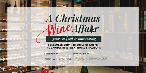 A Christmas Wine Affair  - Food & Wine Tasting