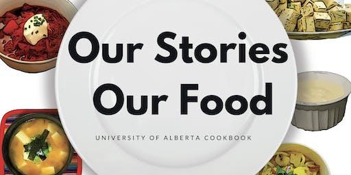 UAlberta Campus Cookbook Launch party