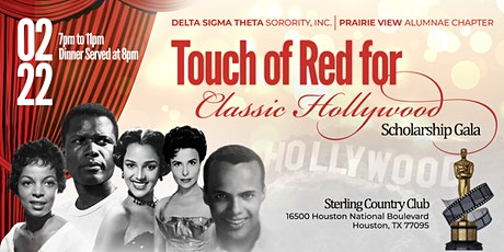4th Annual PVAC DST Touch of Red Scholarship Gala tickets