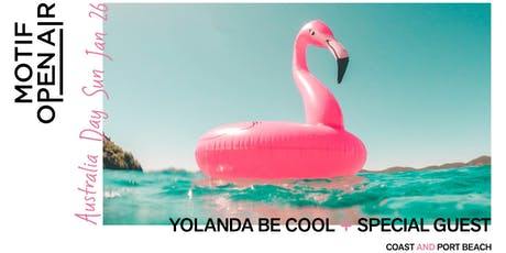 Motif Open Air // Australia Day Beach Party tickets