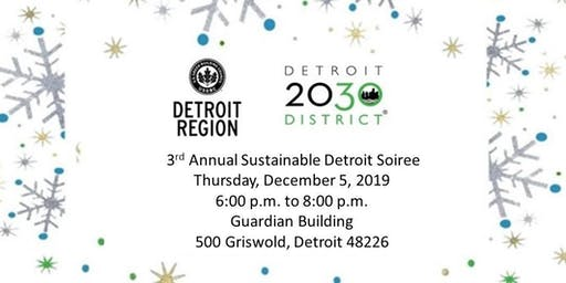 3rd Annual Sustainable Detroit Soiree