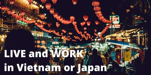 Travel and Teach English in Vietnam or Japan!
