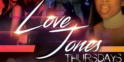 Love Jones Thursday