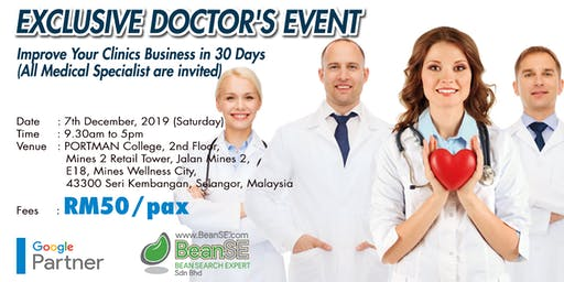 EXCLUSIVE DOCTOR'S EVENT