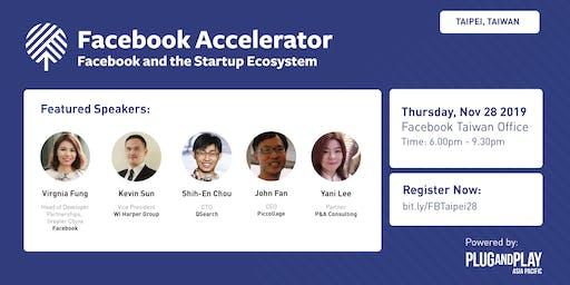 Facebook Accelerator: Startup Roadshow - Taipei, Taiwan