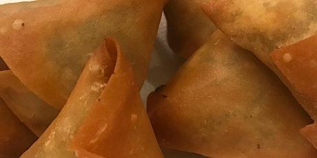 Indian Cooking w Annie M & Renee - Samosas, Chutneys w Mango Lassi/Martinis tickets