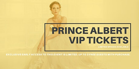 Opportunity Bridal VIP Early Access Prince Albert Pop Up Wedding Dress Sale tickets