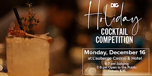 DIG's Holiday Cocktail Competition 2019