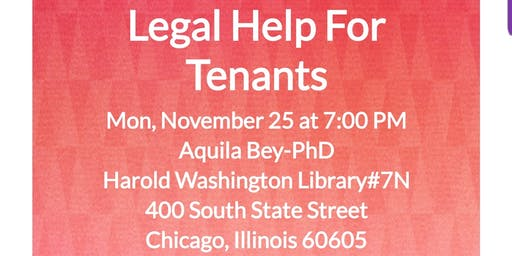 Legal Help For Tenants