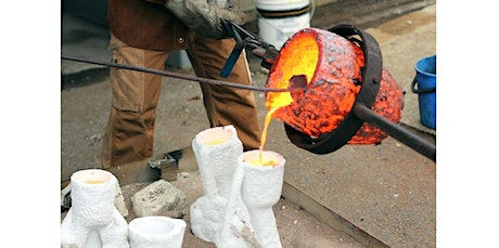 Mold Making and Metal Casting (10 Weeks) Fri 1-4pm and 6-9pm (04-03-2020 starts at 1:00 PM) tickets