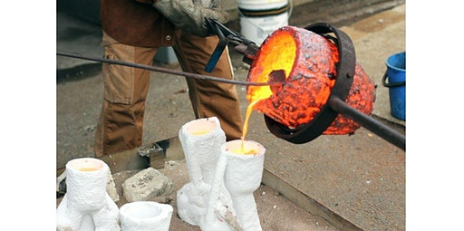 Mold Making and Metal Casting (10 Weeks) Fri 1-4pm and 6-9pm (04-03-2020 starts at 1:00 PM)