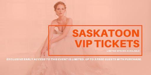 Opportunity Bridal VIP Early Access Saskatoon Pop Up Wedding Dress Sale