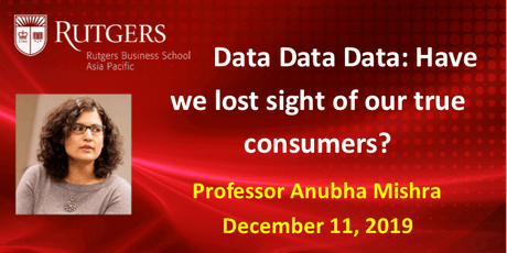Data Data Data: Have We Lost Sight of Our True Consumers tickets