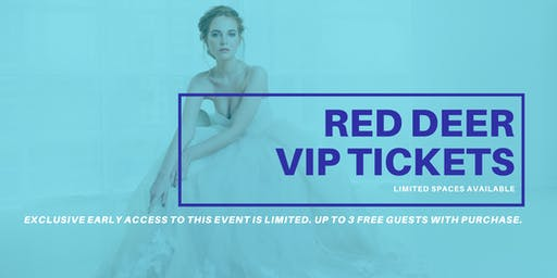 Opportunity Bridal VIP Early Access Red Deer Pop Up Wedding Dress Sale