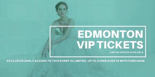 Opportunity Bridal VIP Early Access Edmonton Pop Up Wedding Dress Sale