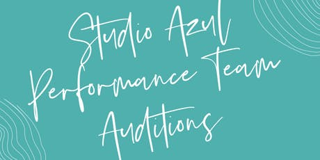 Studio Azul F R E E Audition  tickets