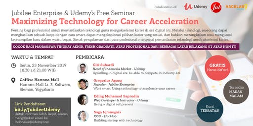Udemy Seminar in Yogyakarta: Maximizing Technology for Career Acceleration