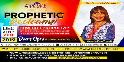 PROPHETIC BOOTCAMP