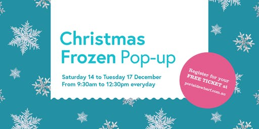 Portside Wharf Christmas Frozen Pop-Up