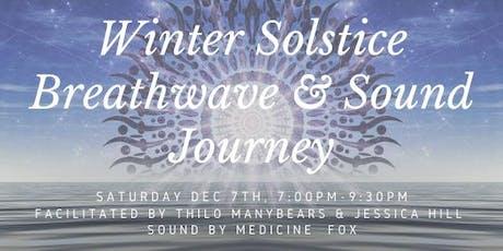 Winter Solstice Breathwave & Sound Journey tickets