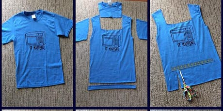 No-Sew T-Shirt Tote Bag (12 - 18 years) FREE @ Waverley Library tickets