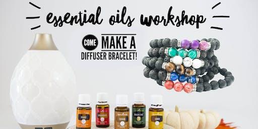 Essential Oils Workshop - Make a Diffuser Bracelet