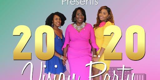 "2020 Vision Party ""Pray. Plan. Pursue"""