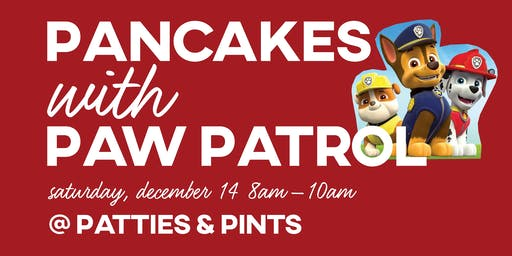 Pancakes with Paw Patrol