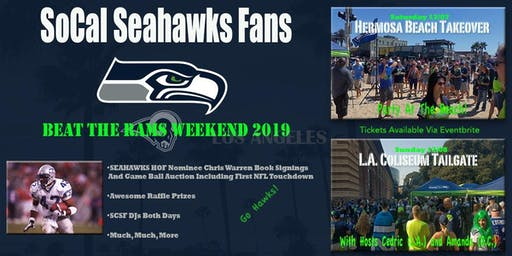 Hermosa Beach TAKEOVER and Game Day TAILGATE w/ CHRIS WARREN Book Signing