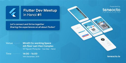 Flutter Dev Meetup in Hanoi #1