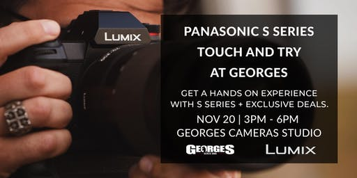 Panasonic S Series Touch and Try