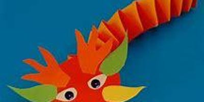 Chinese Dragon Paper Craft, All ages, FREE
