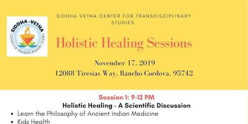 Siddha Vetha Workshop Sacramento