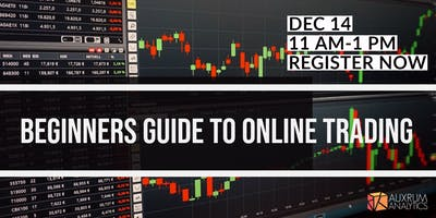 Beginners Guide to Online Trading