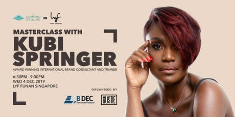 TCG x lyf: Supercharge your Brand with Master Trainer Kubi Springer tickets