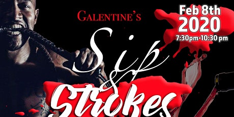 Galentine's Sip and Stroke (Night Edition)  tickets
