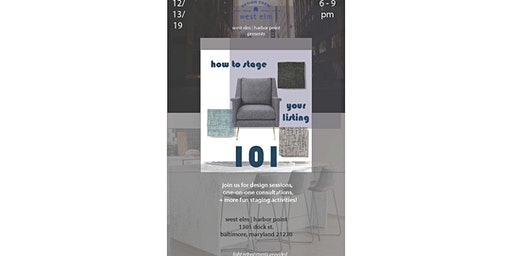 How to Stage Your Listing 101: With West Elm Baltimore Design Crew